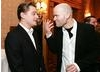 Leonardo DiCaprio and Marc Forster