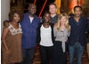 Alfre Woodard, Director Steve McQueen, Lupita Nyongo'o, Michael Fassbender, Producer Dede Gardner and Chiwetel Ejiofor