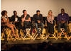 Alfre Woodard, Lupita Nyongo'o, Michael Fassbender, Chiwetel Ejiofor, Producer Dede Gardner and Director Steve McQueen