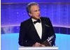 Warren Beatty accepts his Britannia Award