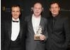 Harry Potter team David Heyman, David Yates and Jason Isaacs.