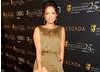 Gugu Mbatha-Raw, dressed by Escada