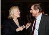 Glenn Close and BAFTA Los Angeles Executive Director Donald Haber