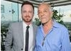 Aaron Paul and Mark Margolis 
