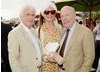 Peter Medak, Emma Joy Kitchener-Fellowes and Julian Fellowes