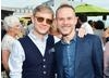Martin Freeman and Dominic Monaghan