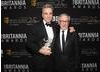 Daniel Day-Lewis received the Stanley Kubrick Britannia Award for Excellence in Film presented by Steven Spielberg.