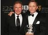 Daniel Craig received the Britannia Award for British Artist of the Year presented by Harrison Ford.