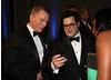 Bond actor Daniel Craig and Josh Gad.