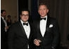 Josh Gad and Daniel Craig.