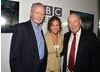 Actor Jon Voight, actress Jacqueline Bisset and writer Julian Fellowes