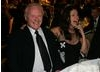 Award presenter Anthony Hopkins enjoys the proceedings.