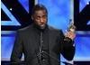 Actor Idris Elba accepts the Britannia Humanitarian Award