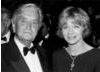 Sir David Lean and Susannah York at the British Gala Dinner held in honour of Sir David Lean, 20 May 1988, Cannes.
