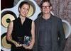 Jury Prize winner Annie Silverstein with Alex McDowell