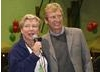 British Consul-General Dame Barbara Hay and BAFTA Los Angeles Chairman Nigel Lythgoe