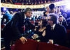 Tim Burton, George Clooney and Helena Bonham Carter at the 2012 Film Awards