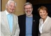 Ken Annakin, Leonard Maltin and Pauline Annakin