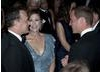 The Duke of Cambridge meets Tom Hanks along with his wife Rita Wilson.