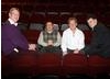 Laurence Marks, Maurice Gran, Ashley Pharoah and Steven Moffatt after the event (Image: BAFTA).