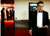 Jools Holland backstage at the 2009 BAFTA Television Awards.