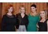 Christina Hendricks, January Jones, Jessica Pare and Kiernan Shipka