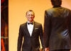 Mr Bond himself Daniel Craig walks on stage to crown this year's Leading Actress (BAFTA / Marc Hoberman).