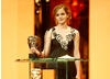 Emma Watson took a break from filming the latest Harry Potter adventure to present the BAFTA for Special Visual Effects (BAFTA / Marc Hoberman).