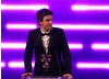 Radio 1 DJ and TV presenter Greg James announces the winner for Original Music.