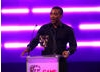 Ashley Walters, recently seen in TV's Top Boy and Inside Men, presents the BAFTA for Artistic Achievement