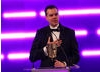 Josh Weier of Valve accepts the coveted Best Game BAFTA for Portal 2.