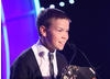Son of Rambow actor Will Poulter reads out the winners of the Pre-School Live Action category.