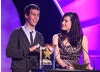 Bionic Woman star Michelle Ryan teams up with Blue Peter presenter Joel Defries to announce the winner of the CBBC Me and My Movie competition.
