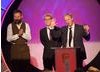 The winning team behind Peppa Pig: Joris van Hulzen, Phil Davies and Philip Hall.