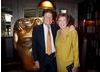 Cilla Black with her partner, Sir John Madejski OBE