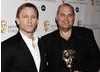 Citation reader Daniel Craig with CBeebies' Michael Carrington, who collected the award for Channel of the Year