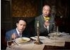 Reese Shearsmith and Steve Pemberton pose for the Television Awards comedy photoshoot in 2010.