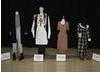 Costumes from BAFTA-nominated television programmes on display. From Left to right: This is England '86, Worried About the Boy, Any Human Heart, Eric and Ernie. (Pic: BAFTA/Alexandra Thompson)