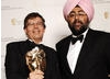 Comedian Hardeep Singh Kohli presented the Editing Fiction/Entertainment BAFTA  to Philip Koss for his work on Doctor Who (BAFTA / Richard Kendal).