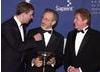 HRH Prince Andrew, Duke of York, Steven Spielberg and Michael Crawford