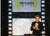 Daniel Day-Lewis with his Stanley Kubrick Britannia Award for Excellence in Film.