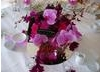 Orchids table decoration detail