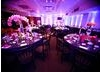 Party setup for a Batmitzvah celebration