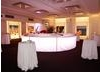 This luminated circle bar adds a touch of evening glamour