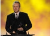 A familiar face on British TV, actor Anthony Head took to the stage to present the Drama award. Pic: BAFTA/Steve Finn