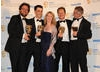 Wounded wins the Single Documentary BAFTA (BAFTA/Richard Kendal).