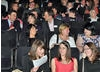 Young people, youth workers and BAFTA Mentors gather at the start of the evening.