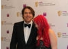 Fresh from hosting the Orange British Academy Film Awards Jonathan Ross turned up to present the Academy's highest honour, the Fellowship to legendary games designer, Nolan Bushnell (BAFTA / James Kennedy).