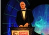 This year's presenter comedian Dara O'Briain entertains the audience (BAFTA / James Kennedy).