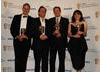 The Armstrong and Miller team receive the Comedy Programme BAFTA (BAFTA/Richard Kendal).